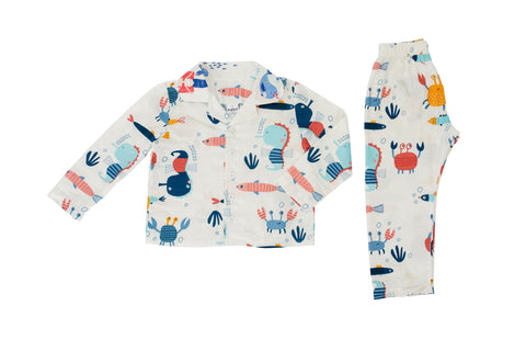 Winter Pj Set - Under the sea