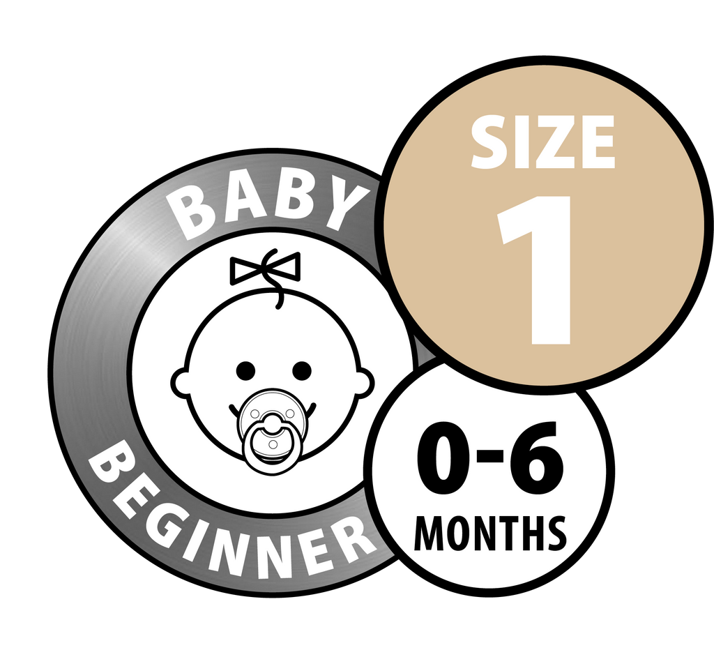 Bibs Pacifiers - Size One