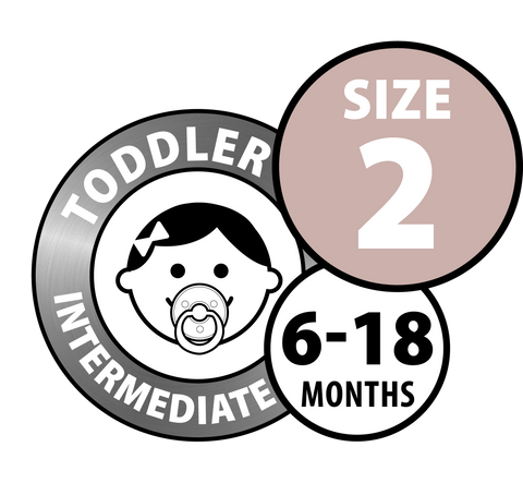 Bibs Pacifiers - Size Two