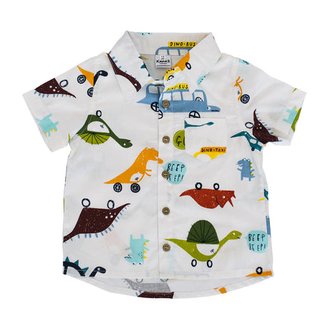 Collared Shirt - Dinosaurs