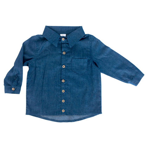 Collared Shirt - Denim