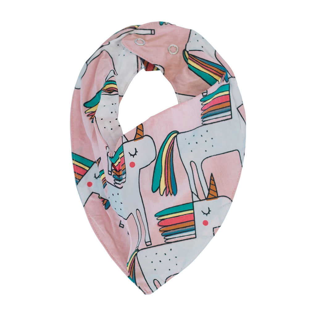 Dribble Bib - Unicorns