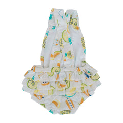 Frilly Playsuit - Ice Lollies