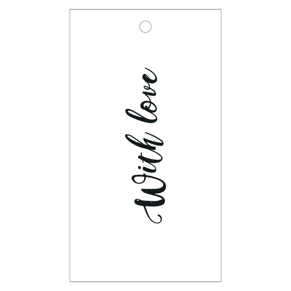 Gift Tag - With Love