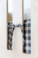 Cot Bumper Cover - Gingham