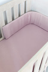 Cot Fitted Sheet - Dusty Muslin