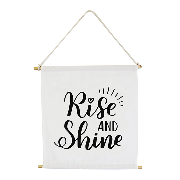Wall Banner - Rise and Shine