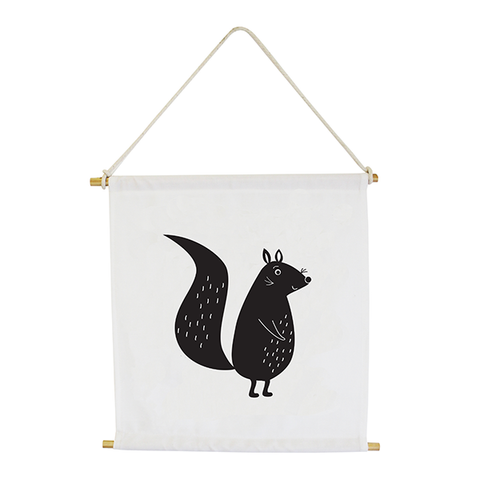 Wall Banner - Squirrel