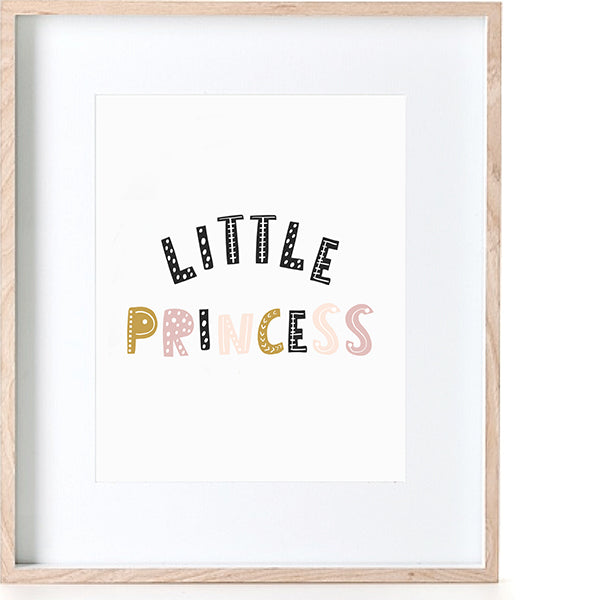 Print - Little Princess