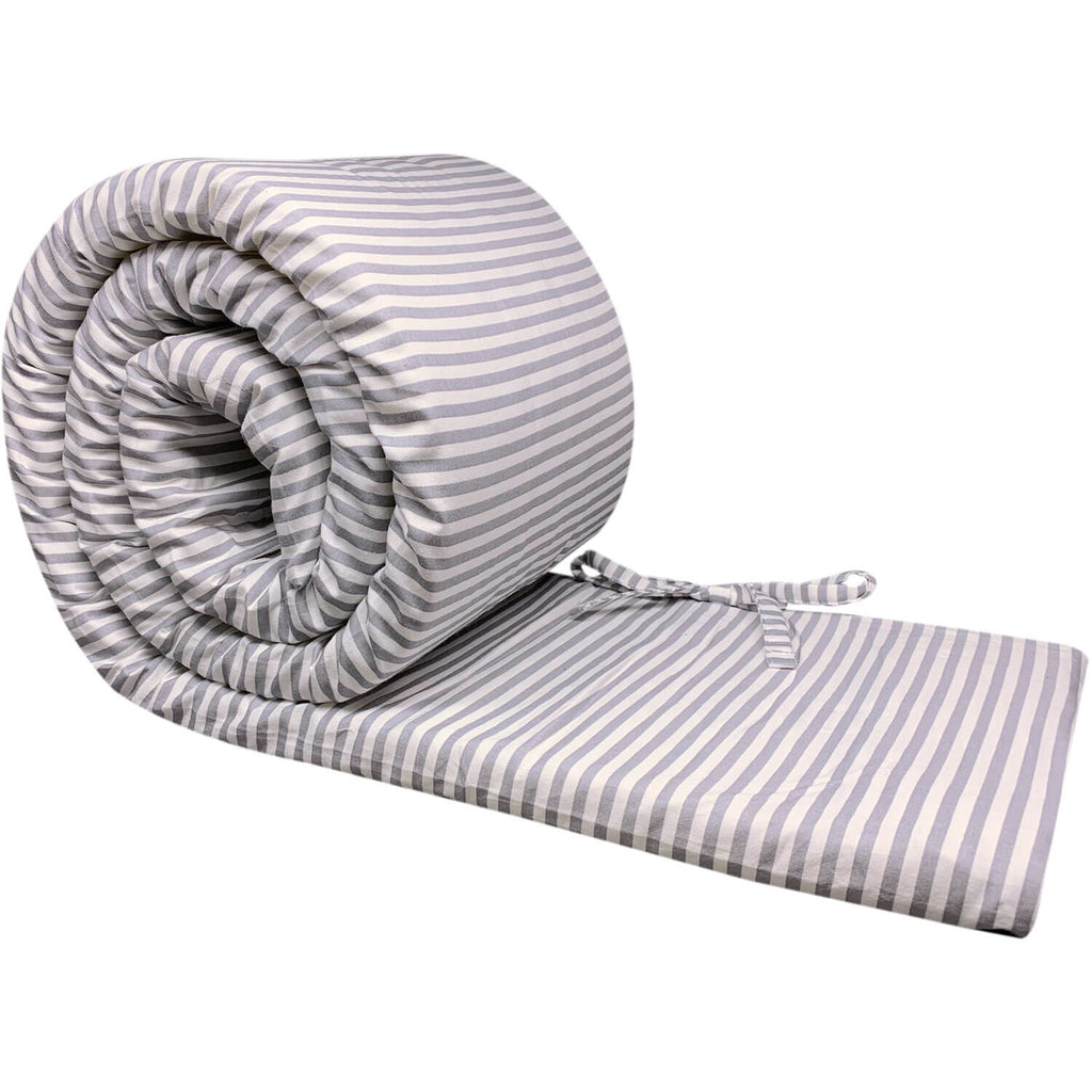 Cot Bumper Cover - Stripe