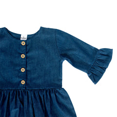 Quincy Dress - Denim