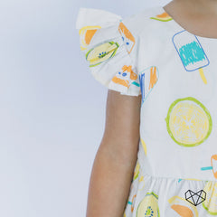 Rosie Dress - Ice Lollies