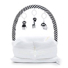 Sleepyhead Toy Arch - Black / White Stripe