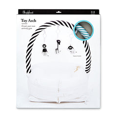 Sleepyhead Toy Arch - Aqua / White Stripe