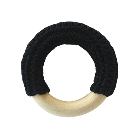 Teething Ring - Black