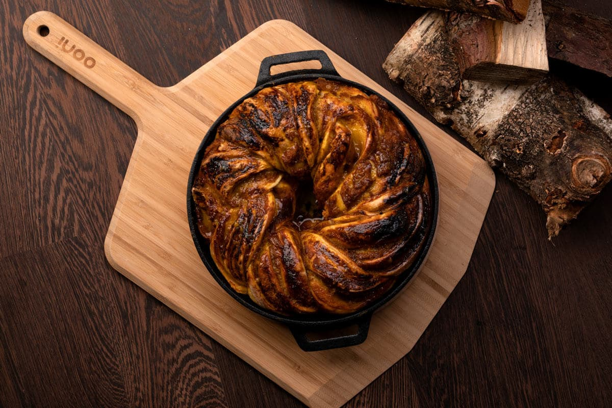Pumpkin Pie Pizza Dough Babka Featured Image
