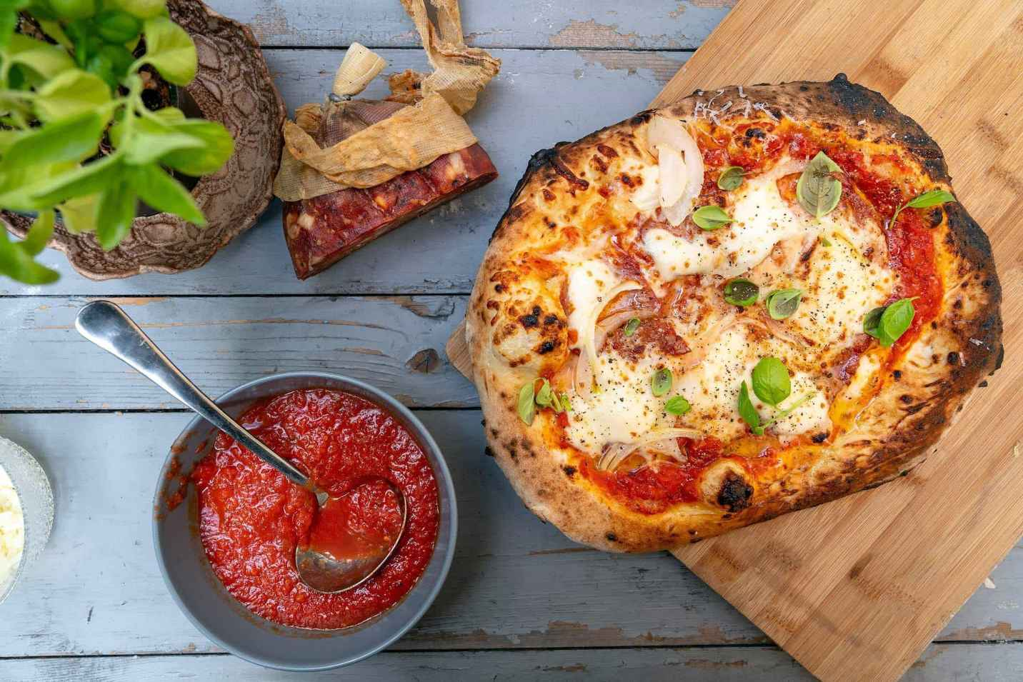 Soppressata Pizza Featured Image