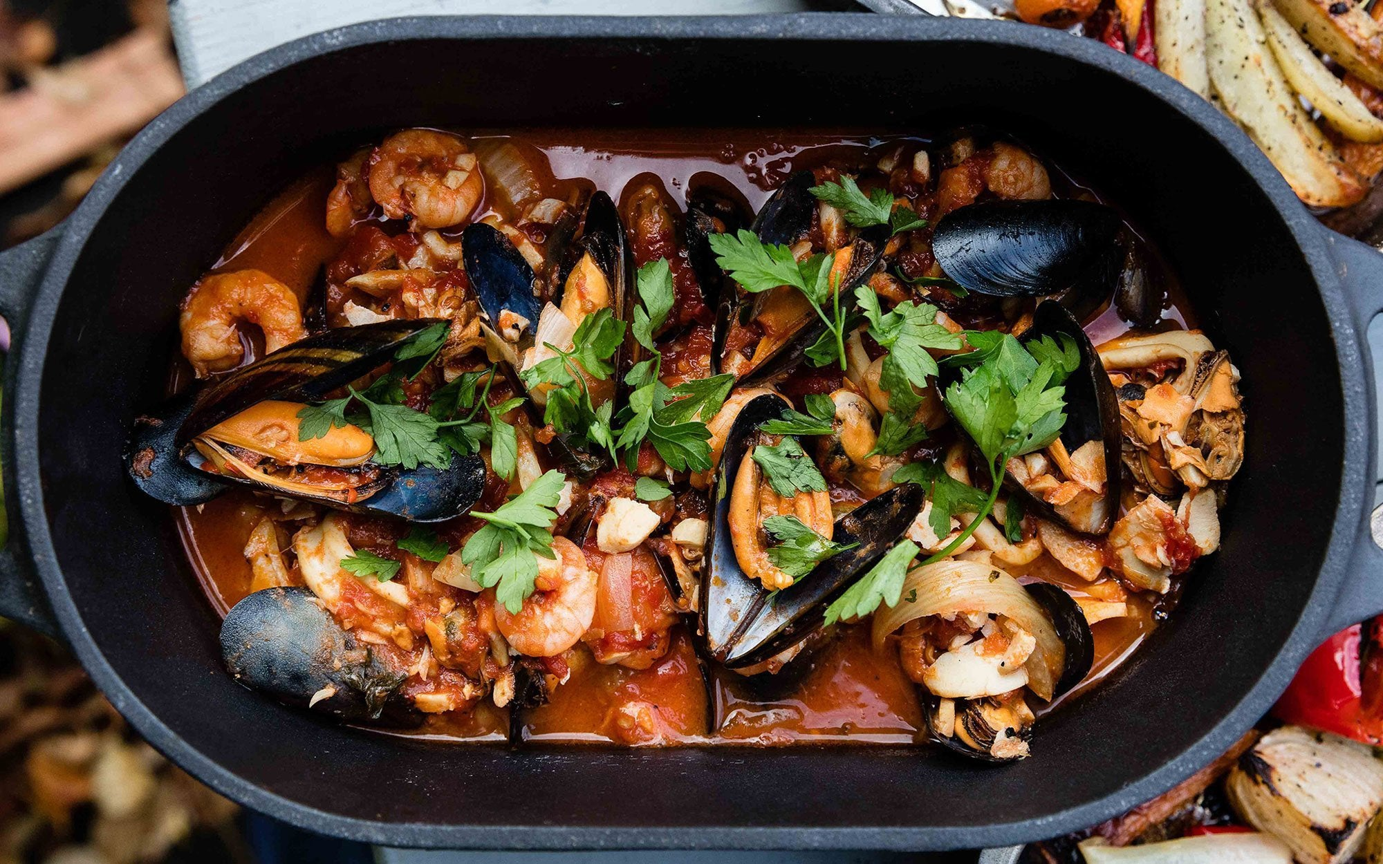 Spicy Seafood Stew Featured Image