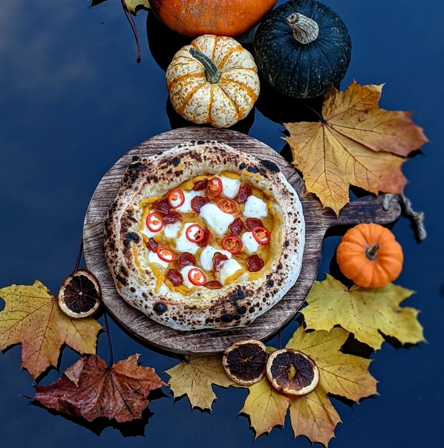 Pumpkin, Spice, and Everything Nice Pizza Featured Image