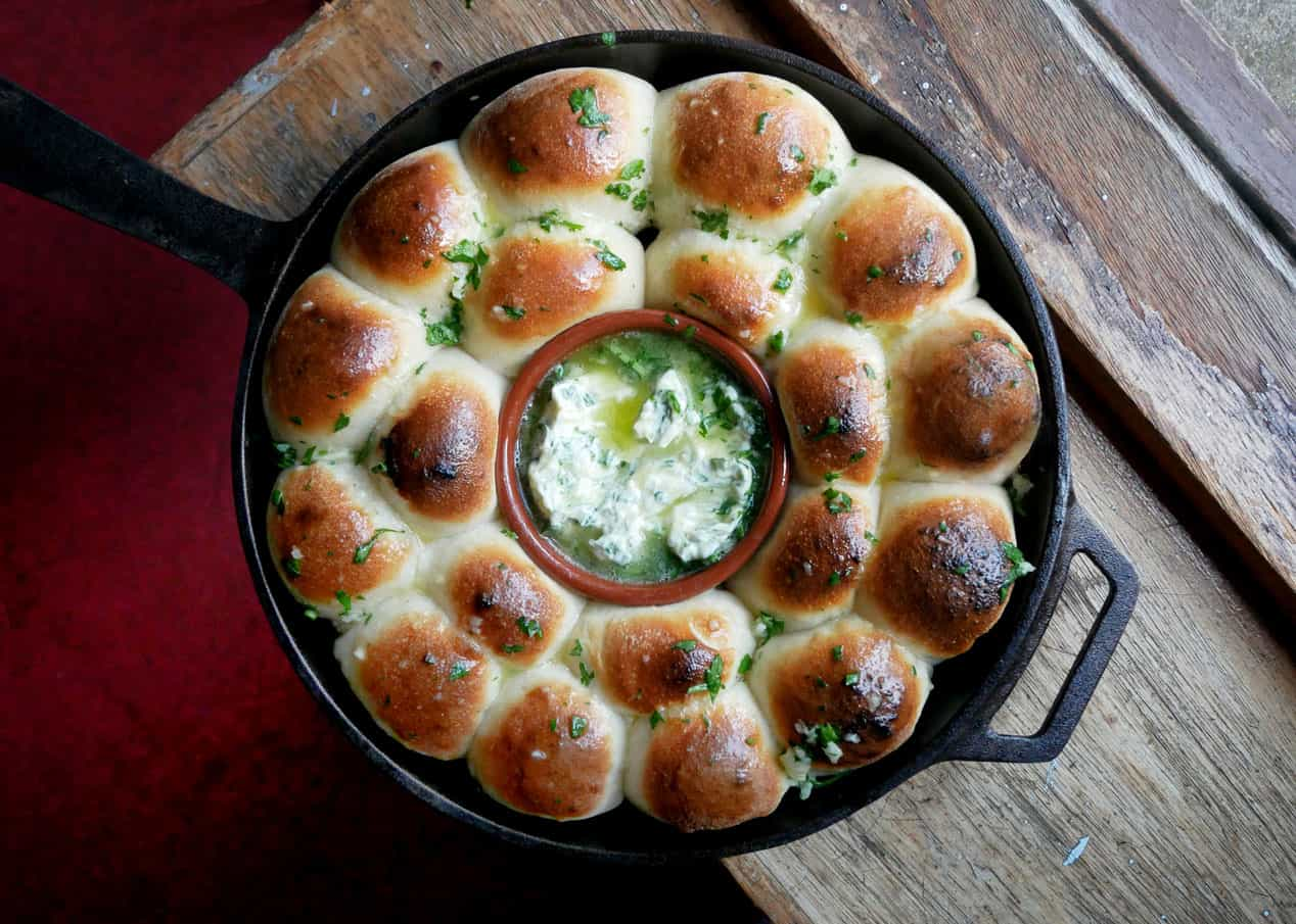 Dough Balls with Garlic Herb Butter Featured Image