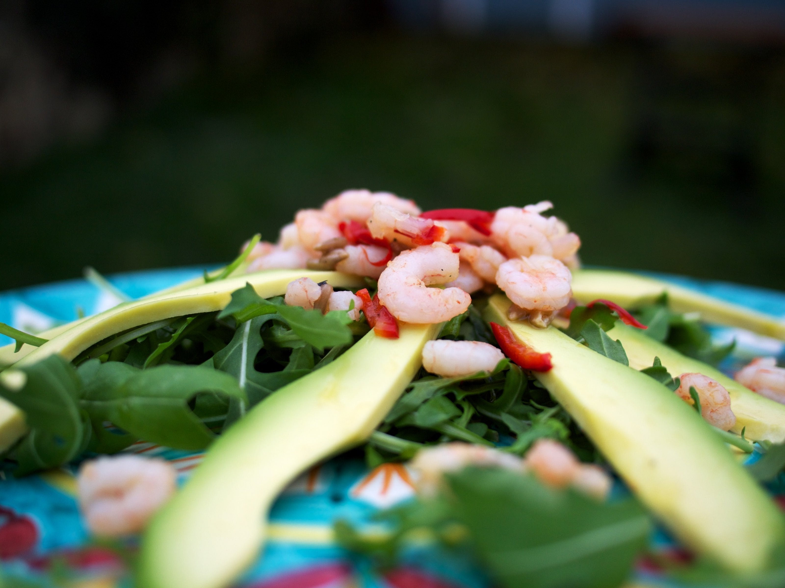 Prawn, Garlic, and Avocado Salad Featured Image