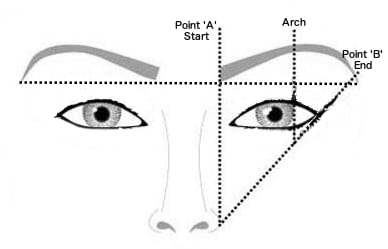Image result for Place the eyebrows drawing