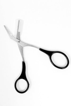 Brow Trimming Scissors with Comb