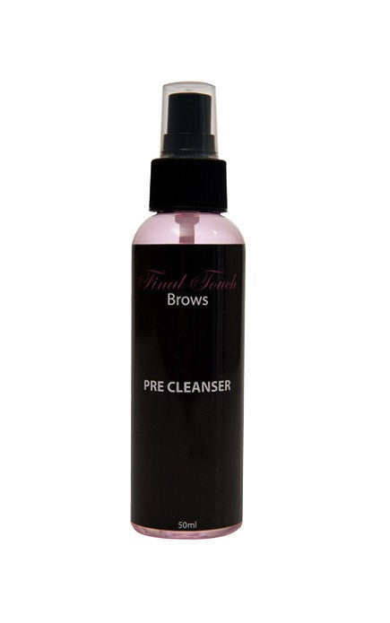 Fasle Eyebrows Pre Cleanser - Final Touch Brows