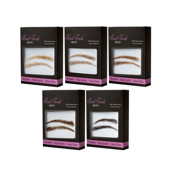 Eyebrow Wigs Womens Final Touch Brows