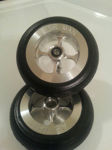 "3 1/2"" Wheel Set with 3/16"" Axle"