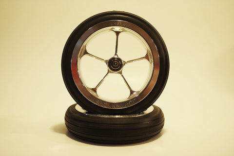 "4 3/4"" Wheel Set with 1/4"" Axle"
