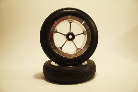 "5 1/4"" Wheel Set with 1/4"" Axle"