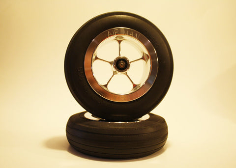 "5 3/4"" Wheel Set with 1/4"" Axle"