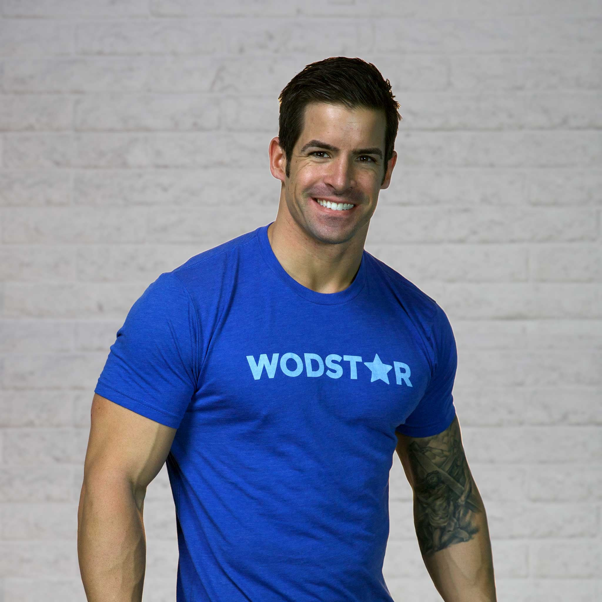 Men's Wodstar Workout T-Shirt: Cobalt
