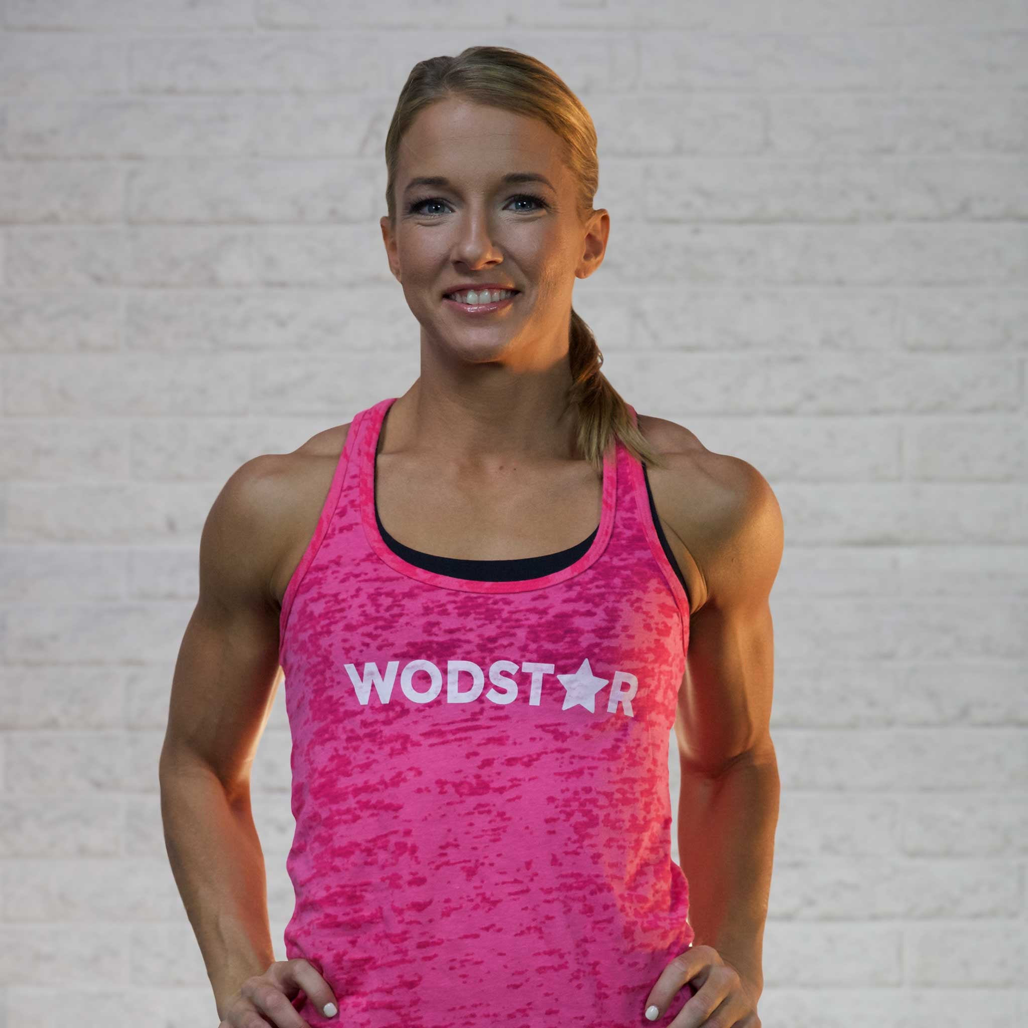 Women's Burnout Workout Tank: Steel Pink