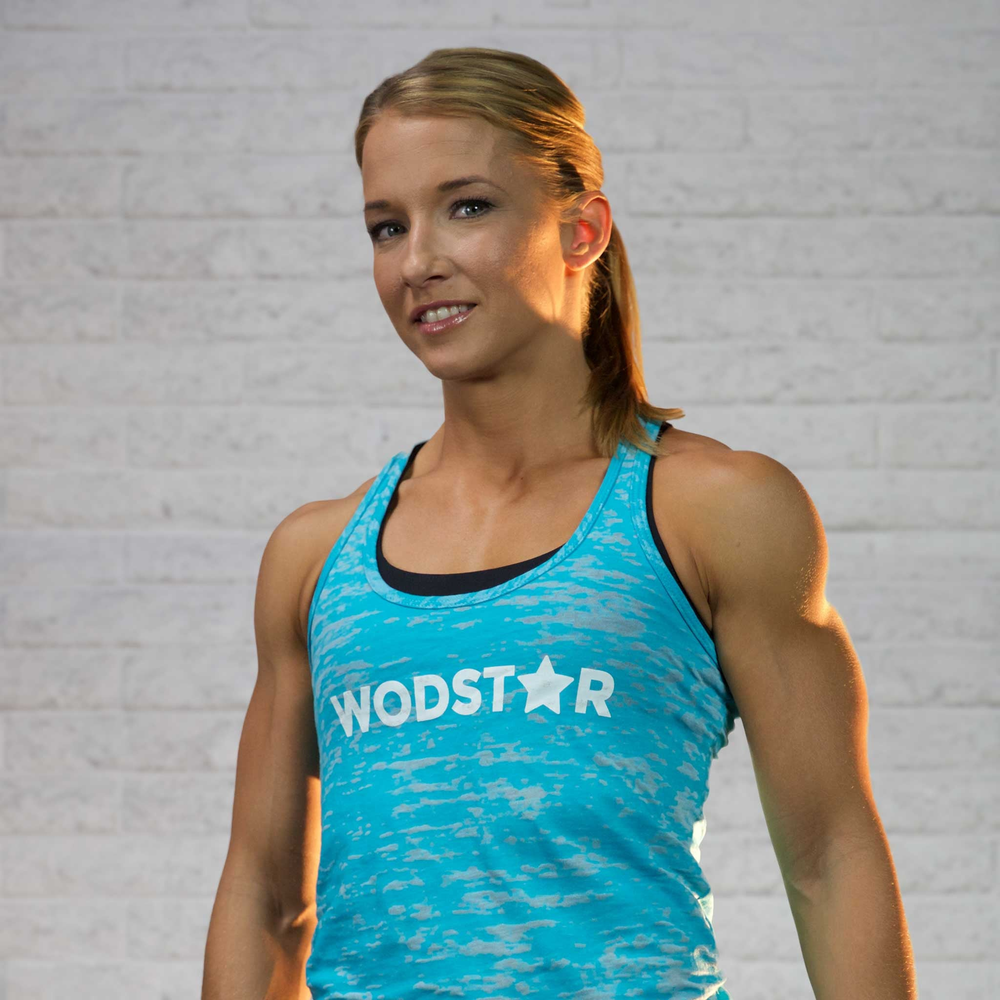 Women's Burnout Workout Tank: Teel