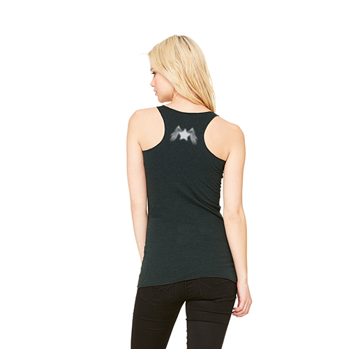 Women's Racer Workout Tank: Red