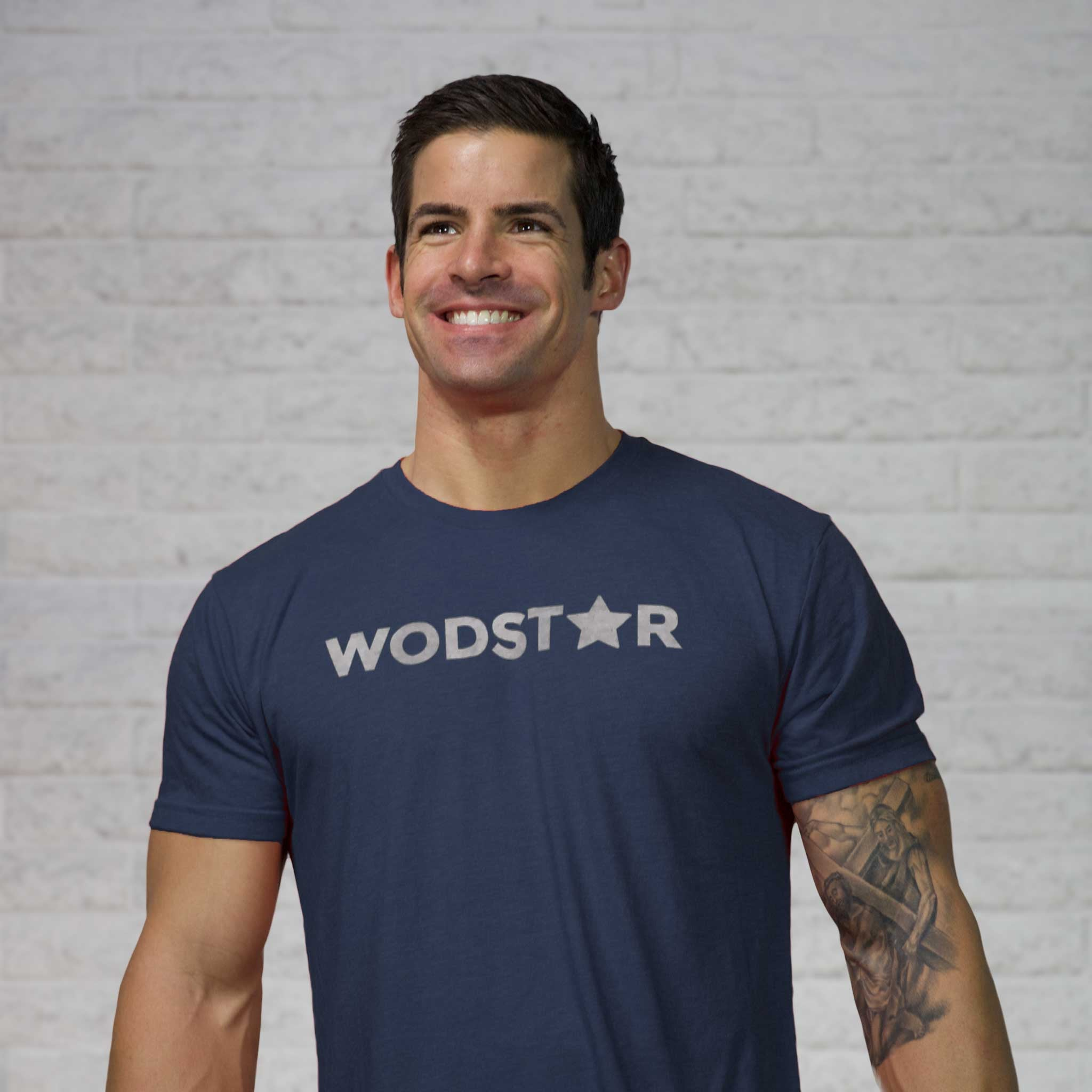 Men's Wodstar Workout T-Shirt: Midnight