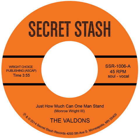 "The Valdons - ""Just How Much Can One Man Stand"""