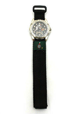 18mm Black Nylon Sport Watch Band Strap Tennis - Forevertime77