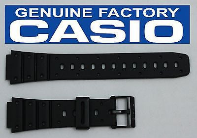 Casio 70610304 Genuine Factory Replacement Black Rubber Watch Band fits SDB-500W SDB-500WX TRI-10W TS-100 - Forevertime77