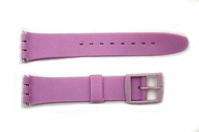 17mm Men's Light Purple Replacement  Band Strap fits SWATCH watches - Forevertime77