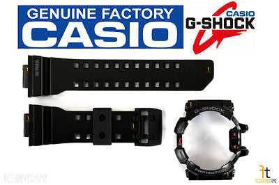 CASIO G-Shock G'Mix GBA-400-1A Original Black Rubber Watch BAND & BEZEL Combo - Forevertime77