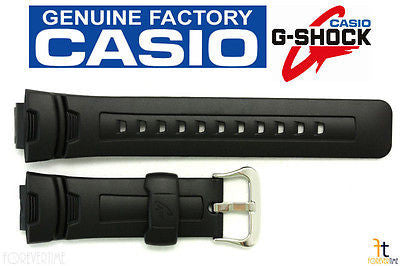 CASIO G-Shock G-7500 16mm Original Black Rubber Watch BAND Strap G-7510 G-7500G - Forevertime77