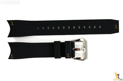 22mm Fits Citizen 59-S53296 Replacement Black Rubber Watch Band Strap 59-S51986 59-S51866 59-S52412 - Forevertime77