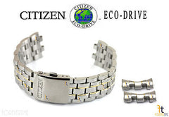Citizen 59-S04560 Original Replacement Stainless Steel Two-Tone Watch Band Bracelet H570-S074924