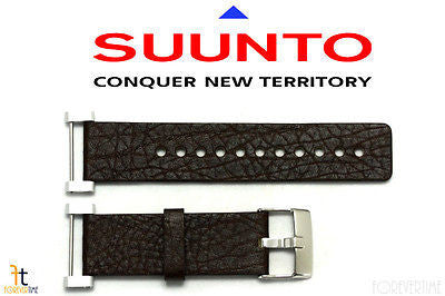 Suunto Core ORIGINAL Brown Leather Watch BAND Strap Kit - Forevertime77