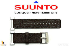 Suunto Core ORIGINAL Brown Leather Watch BAND Strap Kit