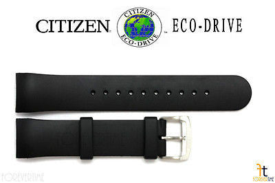 Citizen 59-S51994 Original Replacement Black Rubber Watch Band Strap AT0980-04B S065411 - Forevertime77
