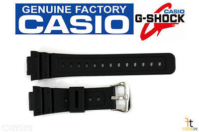 CASIO G-Shock G-5600 16mm Original Black Rubber Watch BAND Strap G-5700 - Forevertime77